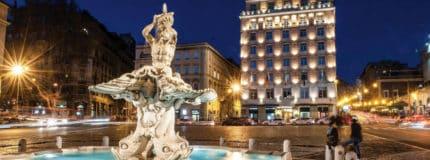 Piazza Barberini in Rome