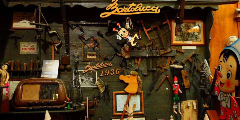 Bartolucci toy store in Rome