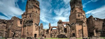 ancient baths of Caracalla