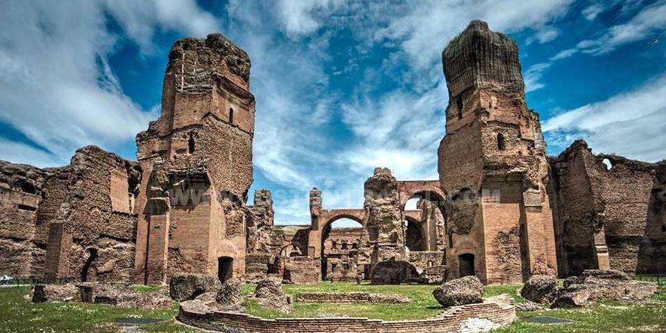 ancient baths of Caracalla