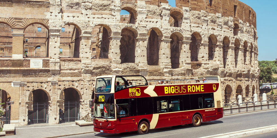 Big Bus Tours in Rome