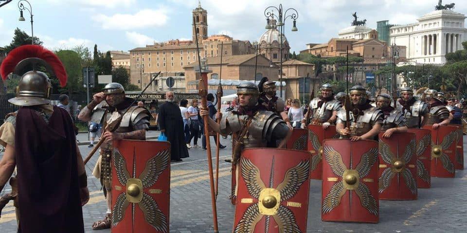 Birthday of Rome or Natale di Roma