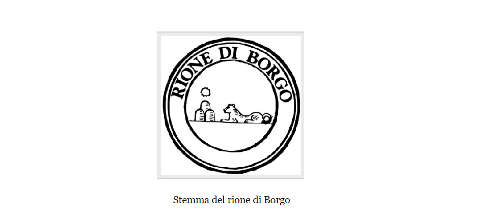 borgo district coat of arms