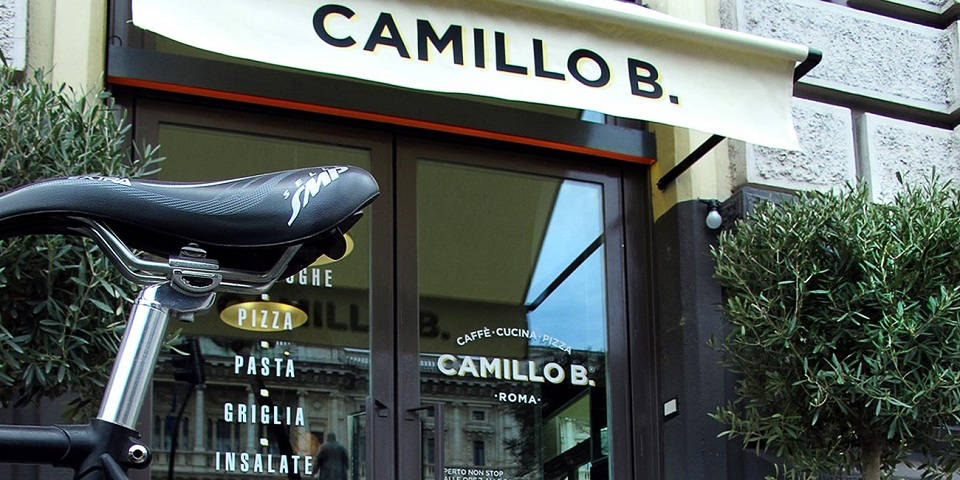 Camillo b. Restaurant with Buffet Aperitivo in Rome