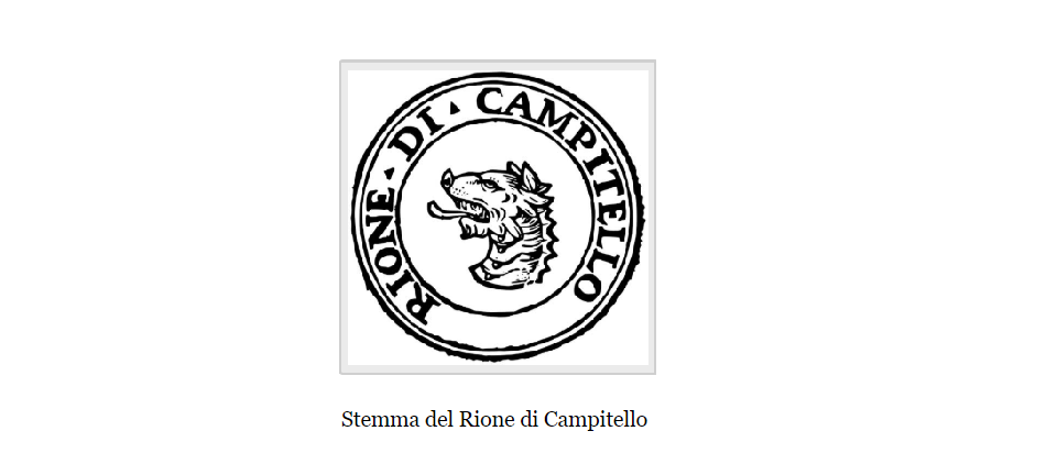 campitello district coat of arms
