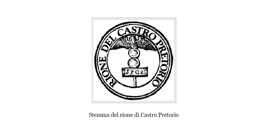 castro pretorio district