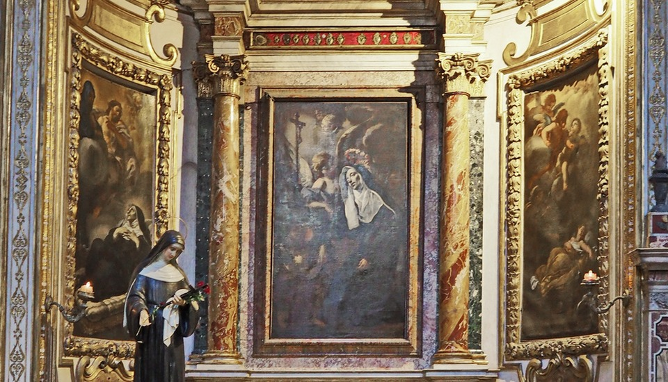 Church of Sant'Agostino interior