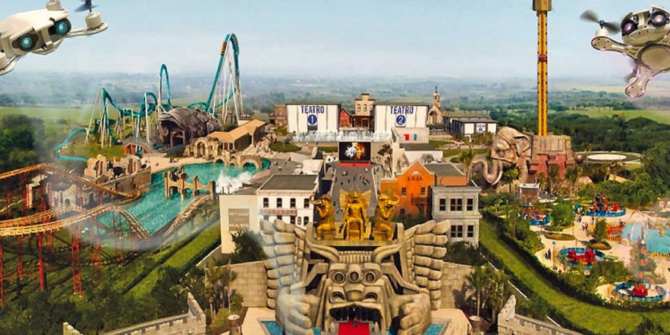 Cinecitta world in Rome
