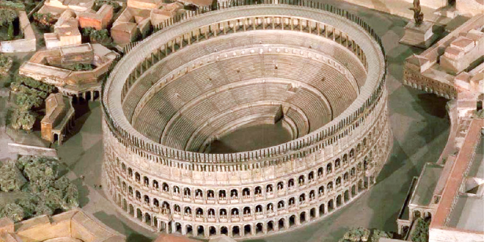 Colosseum in the early ages