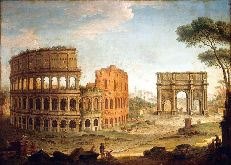 Colosseum in the modern ages