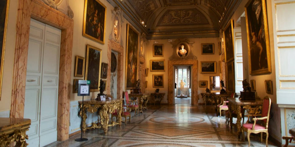 Corsini gallery paintings