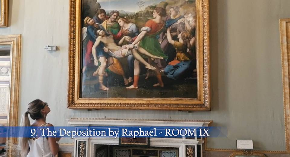 Deposition or Entombment by Raphael
