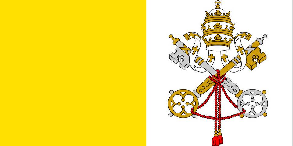 the flag of the Vatican