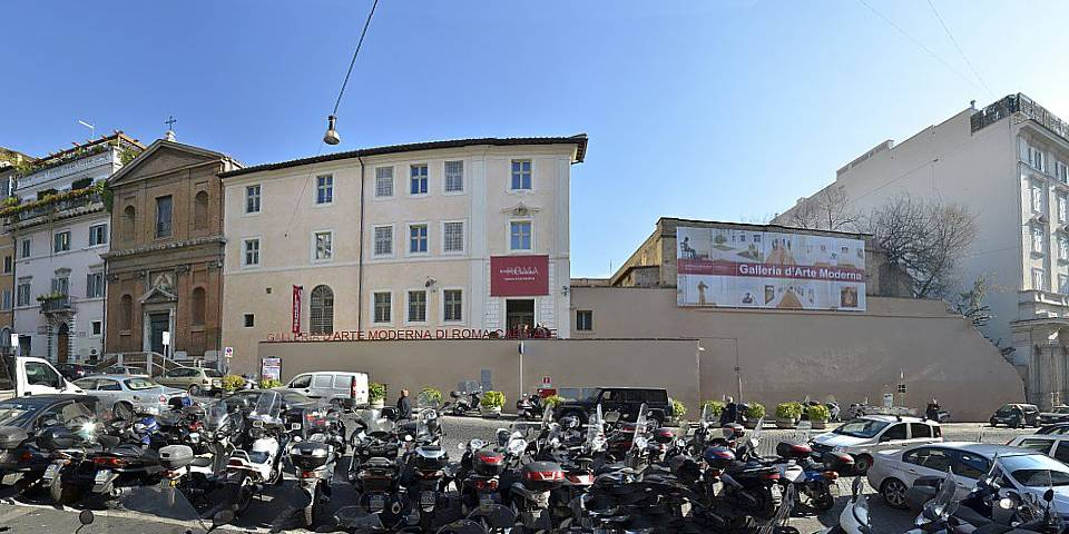 The Municipal Gallery of Modern Art in Rome