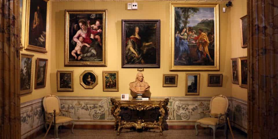 The Corsini Gallery in Rome