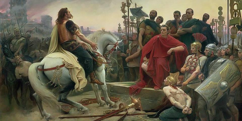 Caesar at Gaul War