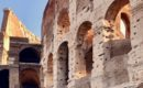 why the colosseum has holes