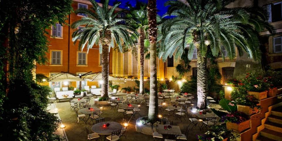 best 4 star hotels in rome: hotel ponte sisto