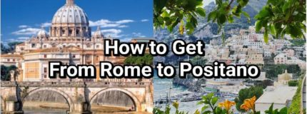 how to get from Rome to Positano