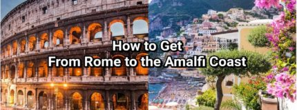 how to get from rome to amalfi