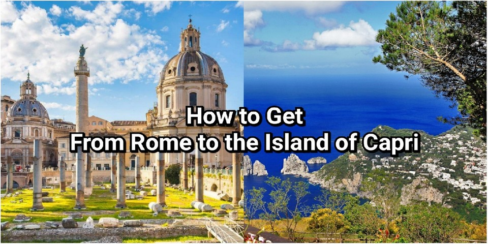 how to get from rome to capri