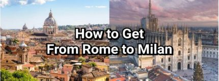 how to get from rome to milan