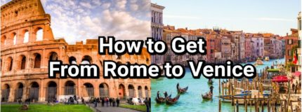 how to get from rome to venice