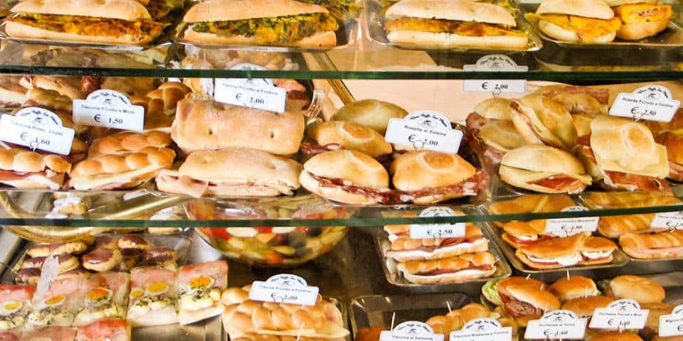 paninoteca in Rome