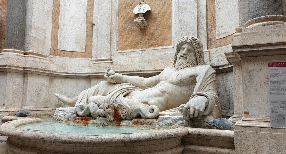 marforio talking statue