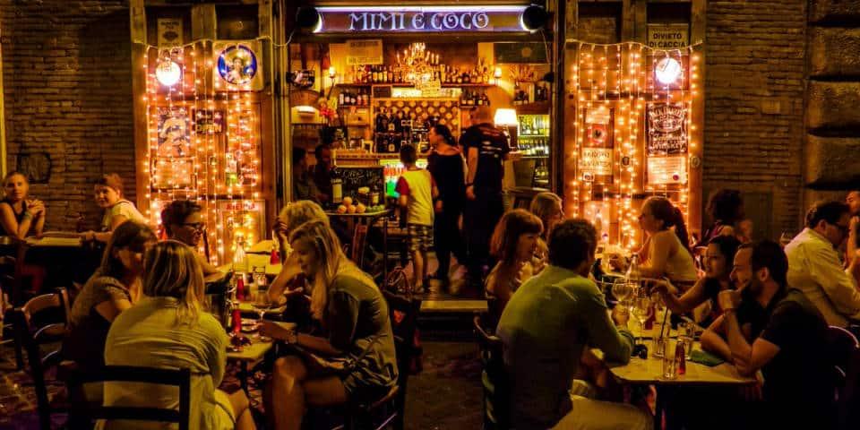 Mimi e Coco Restaurant in Rome