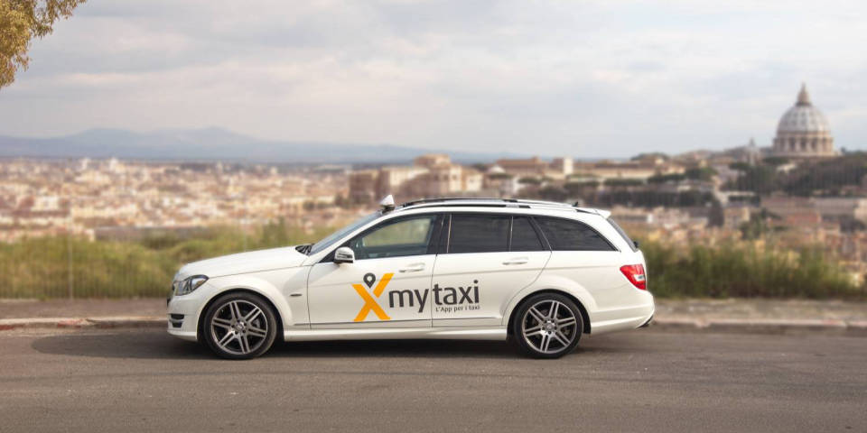 MyTaxi in Rome