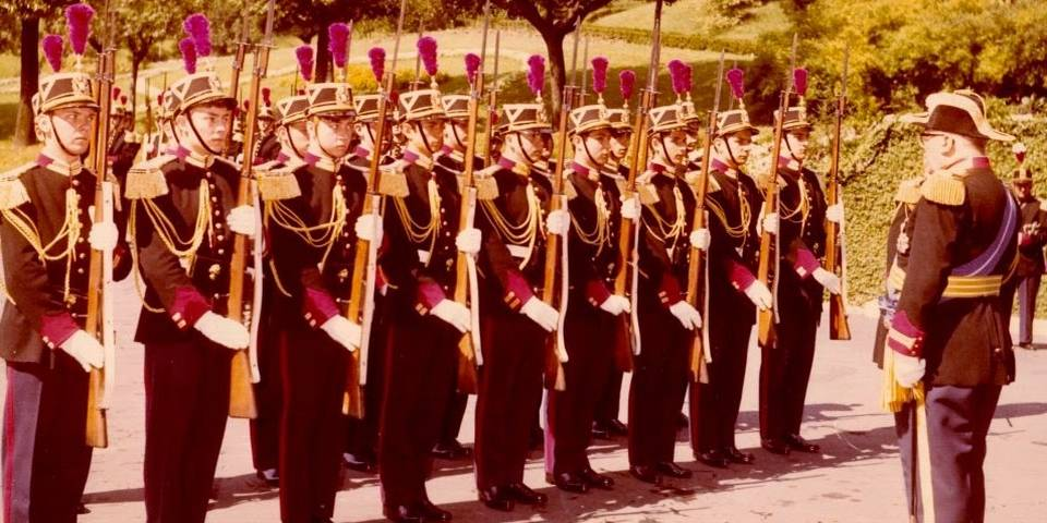 the Palatine Guard in Vatican