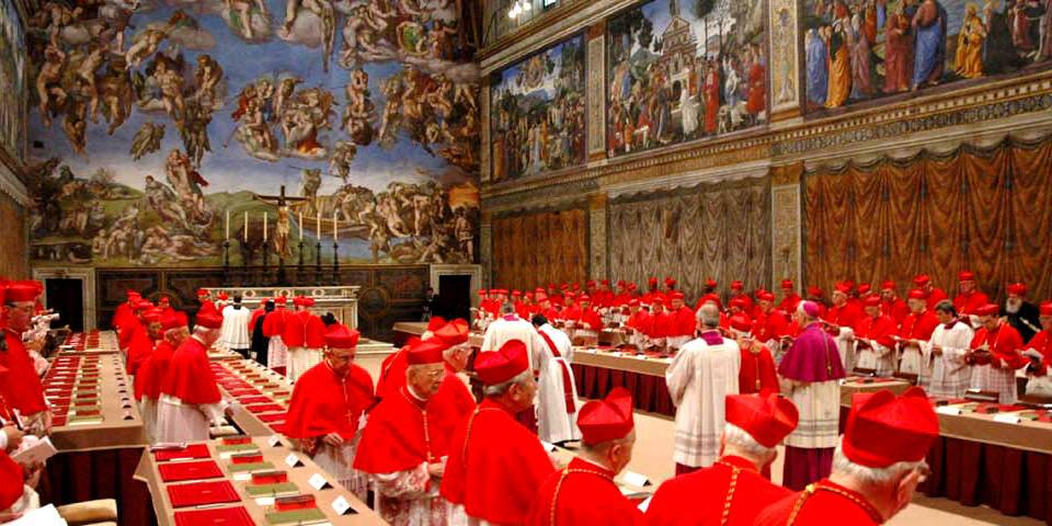Papal conclave in Vatican