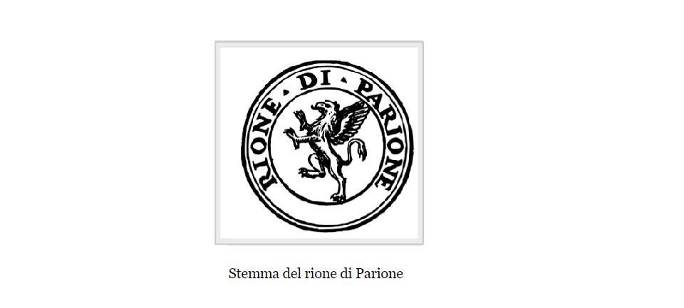 parione coat of arms