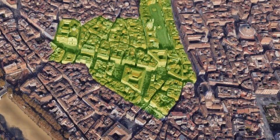 parione district