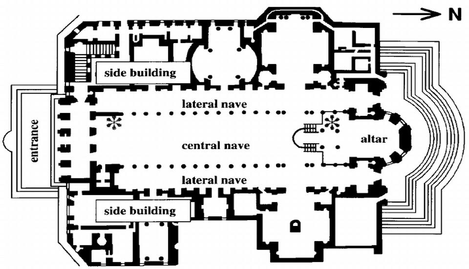 plan of basilica santa maria maggiore