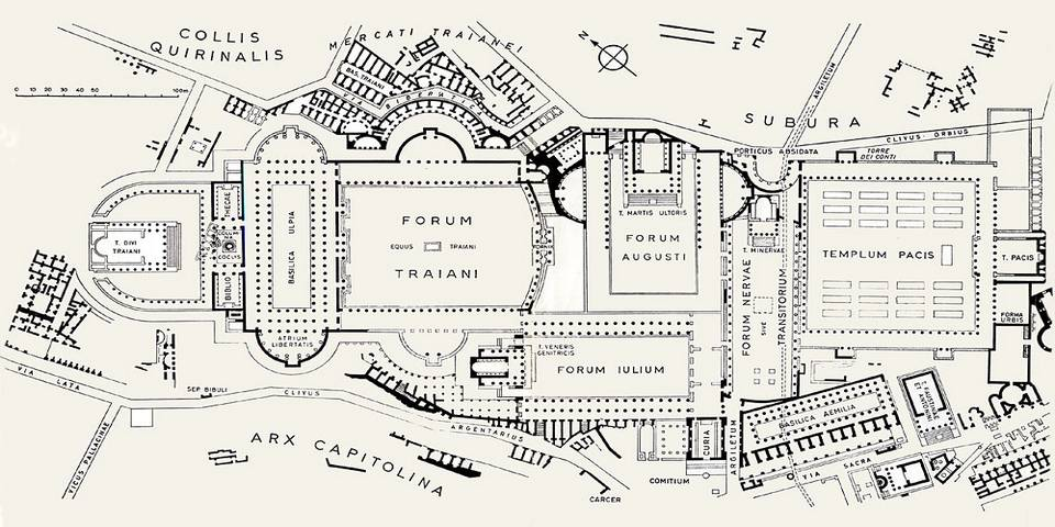 Map of Forum