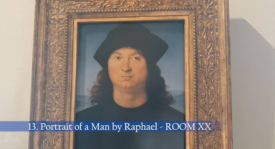 Portrait of a Man by Raphael