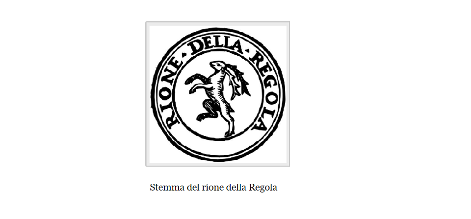 regola coat of arms
