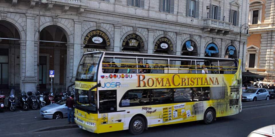 Roma Cristiana Tour Bus