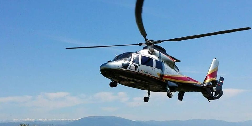 rome capri helicopter transfer