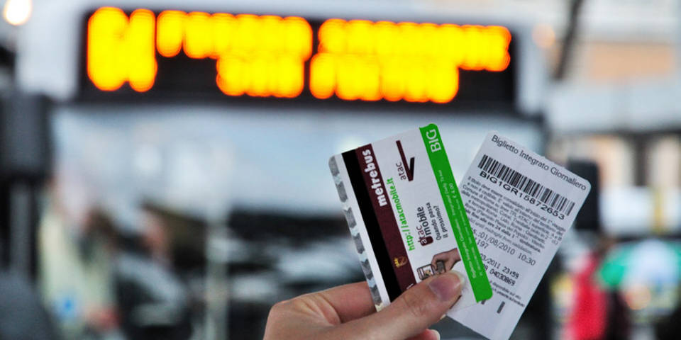 how to buy tickets for the public transport in Rome
