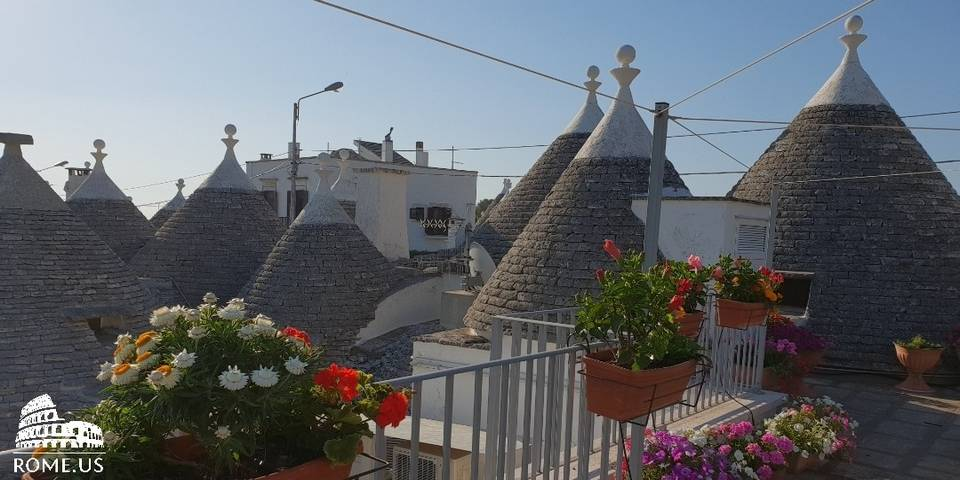 Alberobello views