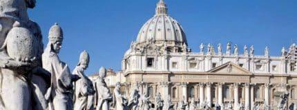saint peters basilica in the Vatican