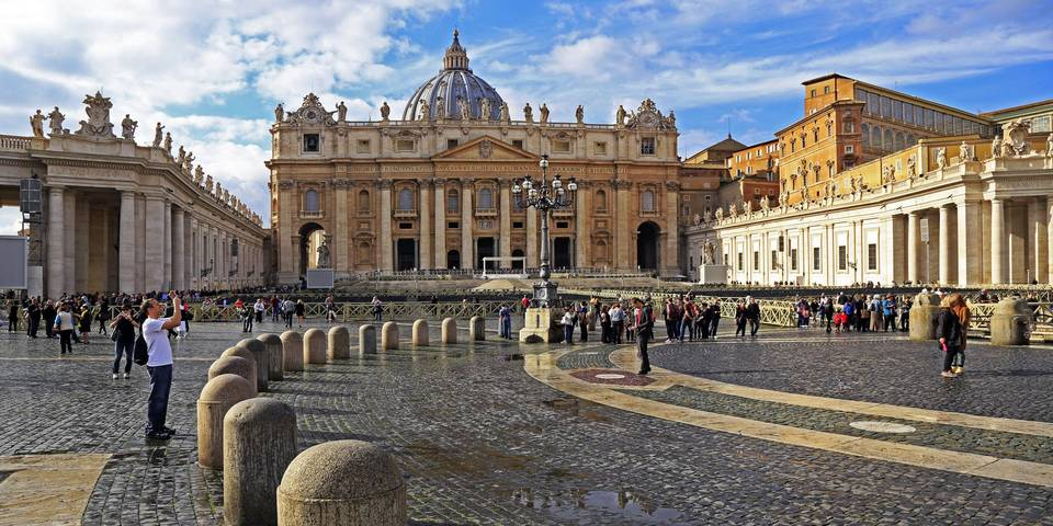 Saint Peter's Square in Vatican