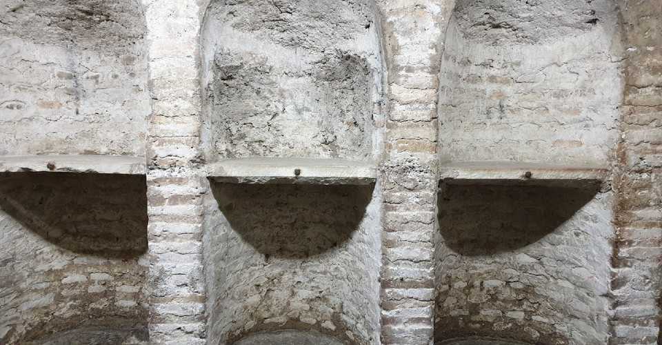 santa maria in cosmedin crypt