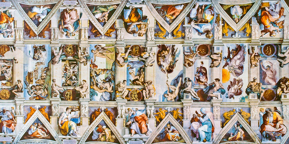Where Is Sistine Chapel Ceiling?