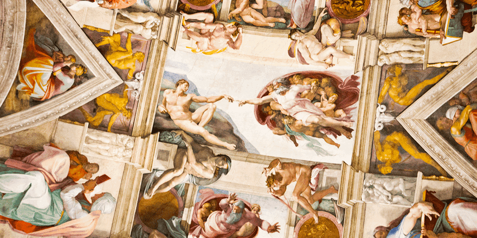 brain in The Sistine chapel