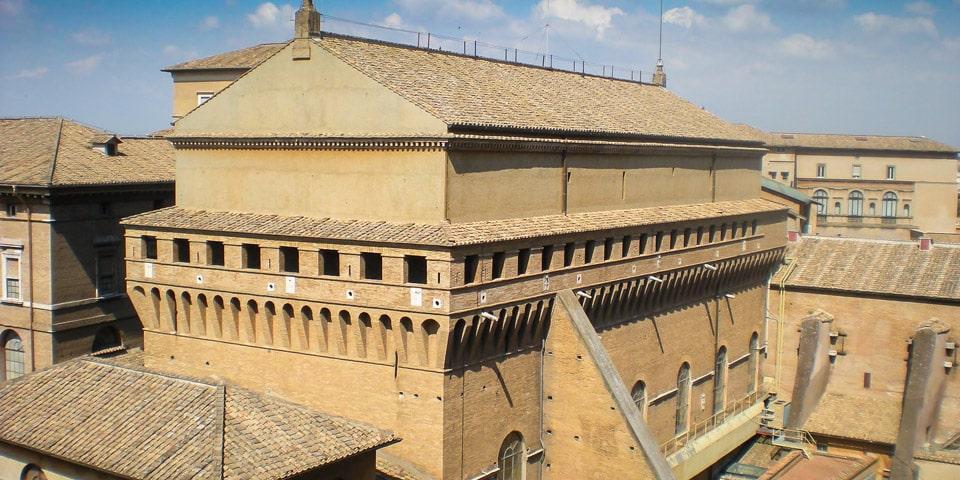 When Was Sistine Chapel Built?