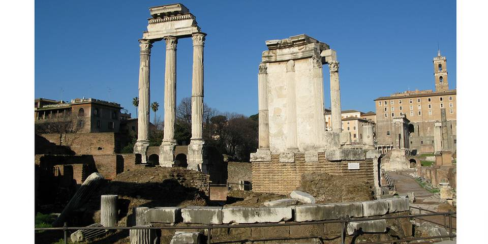 temple of vesta in the roman forum